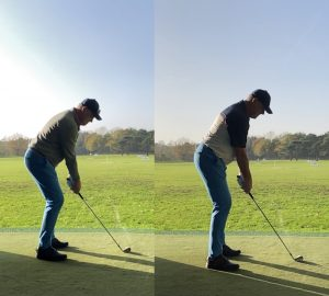 beter set-up in golf